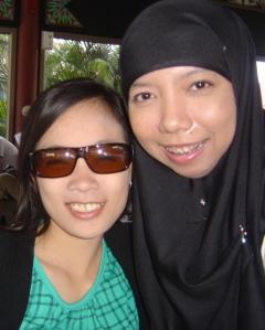 With Natalia.
